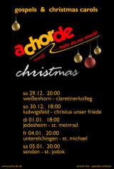 achorde meets christmas